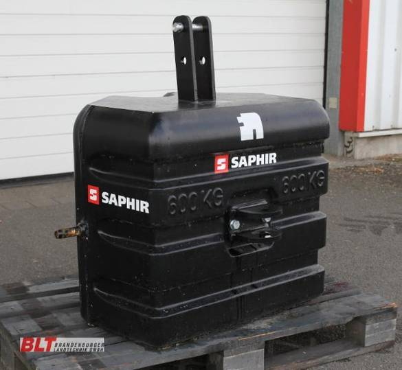 Saphir Frontgewicht 600 kg - 2017