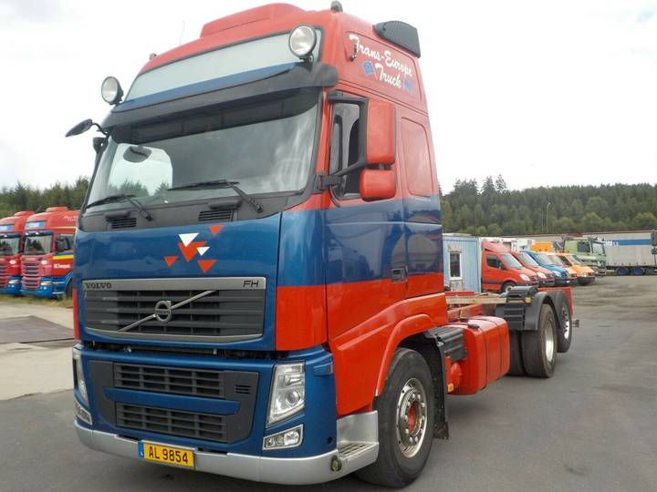 Volvo FH500-XL-MANUAL -VOITH RETARDER - 2012