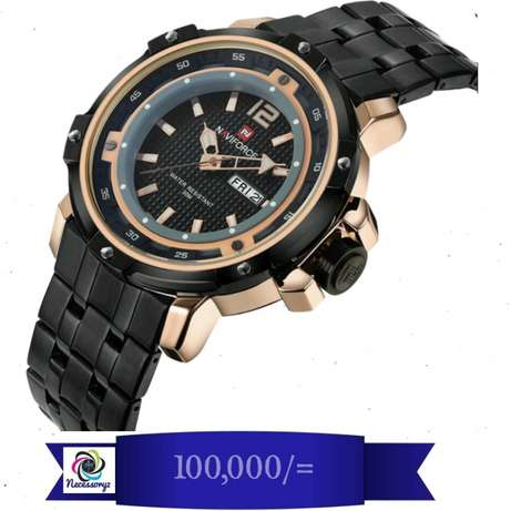 Naviforce watches with 1 year warranty Kampala - image 8