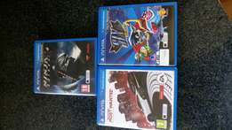 Ps vita games for sale or swap