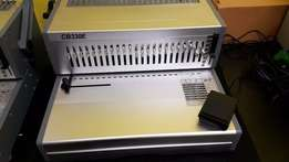 Electric Comb Binder for sale, Guillotines & All Print Finishing Equip