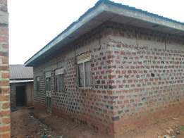 Athree bedroomed shell house on quick sale at 19m in kireka D near ka