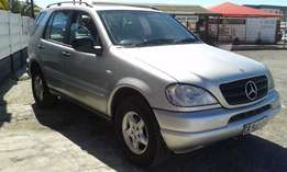 2000 Mercedes Benz ML 270 Cdi