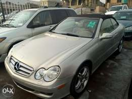 2007 Benz clk 500 tokunbo coupe