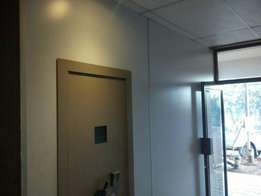 Strong room high spec security doors