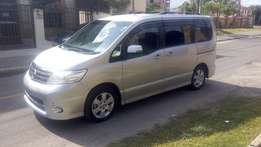 Nissan Serena, 2010, 2000cc, B/Camera, A/Rims, F/Lights, R/Spoiler