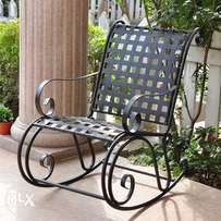 designed garden metal chair.