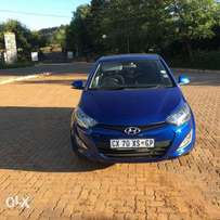 2014 Hyundai i20 1.4 fluid with 40500km