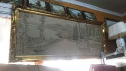 Antique Wall Painting From Germany World Gallery 28L*60W at 70k