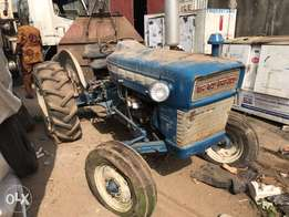 Tractor and it's implements for farming