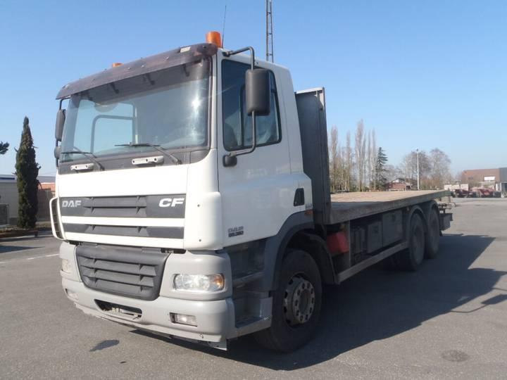 DAF CF85 380 platte vrachtwagen - 2007