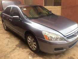Extremely clean 07 Tokunbo Honda Accord