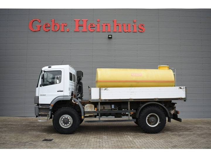 Mercedes-Benz Atego 1828 4x4 7000L watertank - 2004