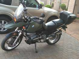 Bmw R1150gs for sale or to swop for Landcruiser or Toyota Hilux 4x4