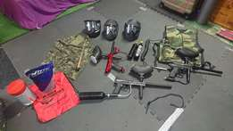 Paintball kit for sale