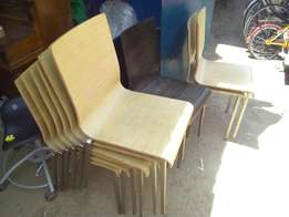 Waiting/classroom chairs, made in Italy