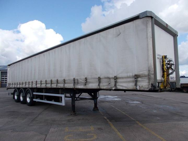 SDC 45FT CURTAINSIDE TRAILER - 2008 - C264166 - 2008