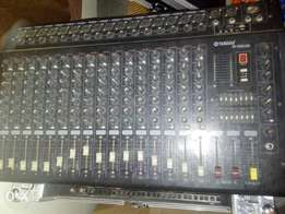 16 Channel Amplified Music Mixer