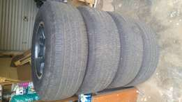 Tyres for sale 255/70 R16 Continentals