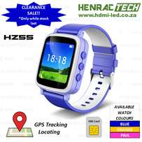 Kids GPS Tracker Smart Phone Watch (SOS and GeoFence)