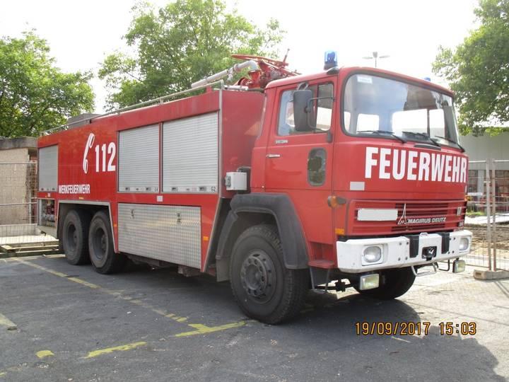 Magirus Deutz 6000 L Wasser, 3000 L F, Feuerwehr, Fire Truck Fire Engine - 1978