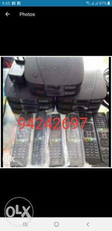 New Full HDD Airtel set top box with 6months malyalam tamil telgu