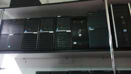 Core i3 desktops with 4gb ram and 500gb harddisc
