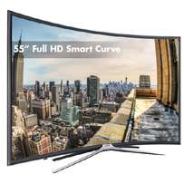 New series 6 of the samsung 55 smart curved FHD led digital tv
