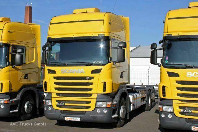 Scania R 440 6X2,E 6, BDF, Topline,Retarder,Tank 1100 L - 2013