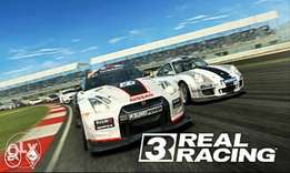 Real racing 3 game for android phones