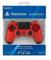 Sony DualShock 4 Controller, Magma Red, PlayStation 4