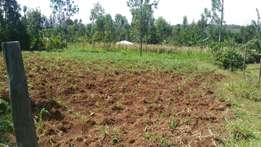 Mosocho a quarter acre for sale.