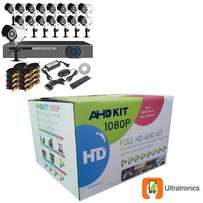 One week only! - AHD CCTV Kit - 16 Ch CCTV DIY system