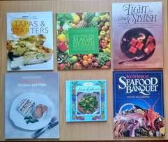 13 Cooking books. R200 for the lot.