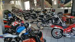 Superbikes and Cruisers for sale from 30K to 200K