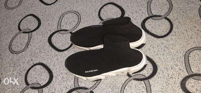 Balenciaga Speed LT sneakers Size 40 Black and White
