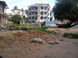 Plot for sale of 1/4 acrea at nyali