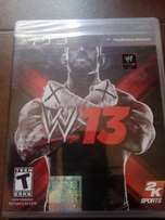 WWE 2013 for PS3 (Brand New CD)