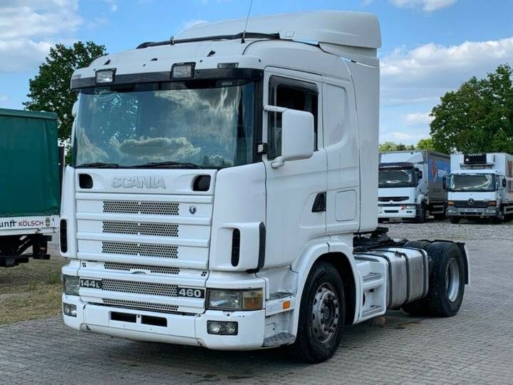 Scania R144 - 460 ..Retarder+Manual - 1998