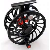 Fly Fishing Reel: Estuary Pro 7/9 weight. Black & Red