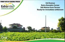 Prime Plot in Ruiru - 300 metres from Tarmac