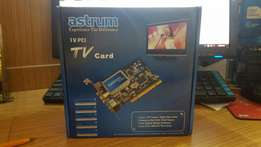 TV pci tv card brand new for sale