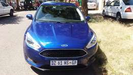 2015 Ford Focus 1,0 Ecoboost Trend Colovr Biue