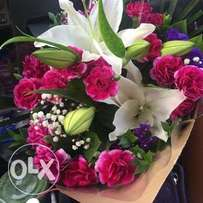 Fresh flowers for weddings, valentines and events