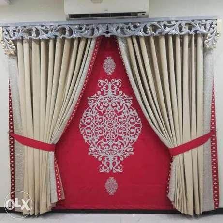 Frame and curtain fixing service