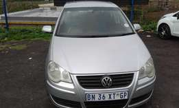 VW Polo 1.6 Colour Silve Model 2009 5 Doors Factory A/C & CD Player