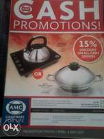AMC Cookware For Life Promo's