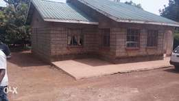 A well located 3 bedroom bungalow at Kiamumbi estate for Sale