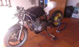Cafe Racer for Sale. Unfinished Project.