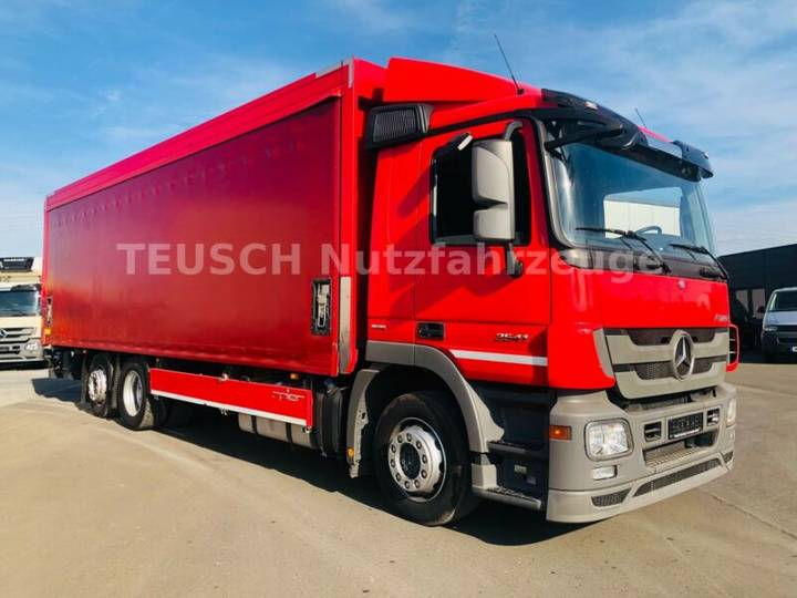 Mercedes-Benz ACTROS 2541 / LBW / AHK / LENKACHSE / 8.200 mm - 2013